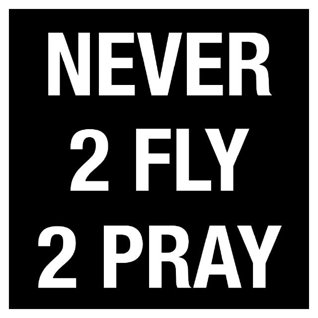 Jeffrey Lee Sawyer Logo Never2Fly2Pray