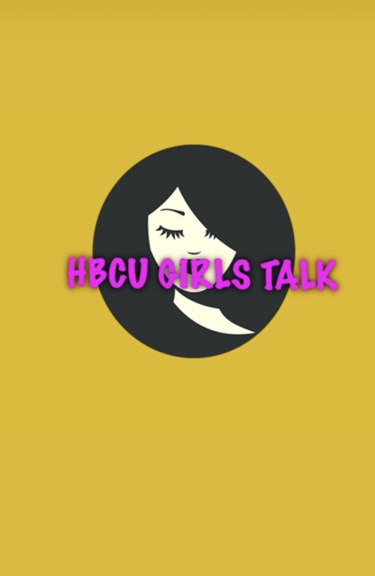 HBCU Girls Talk Logo June 21, 2020